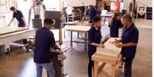 Apprenticeships are very practical and vary in different sectors